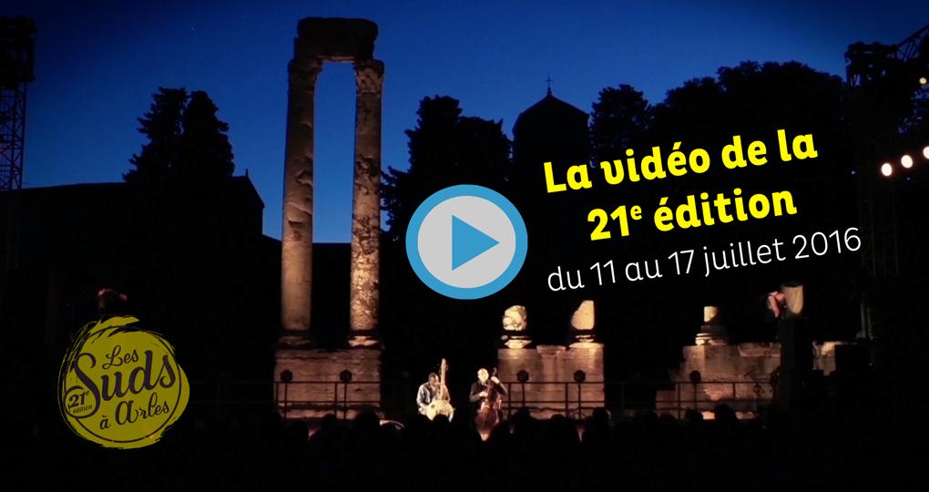 Player Video Bilan Festival des Suds, à Arles 2016